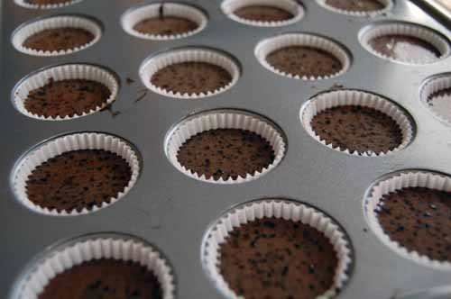 Black Magic Cupcakes - Before baking