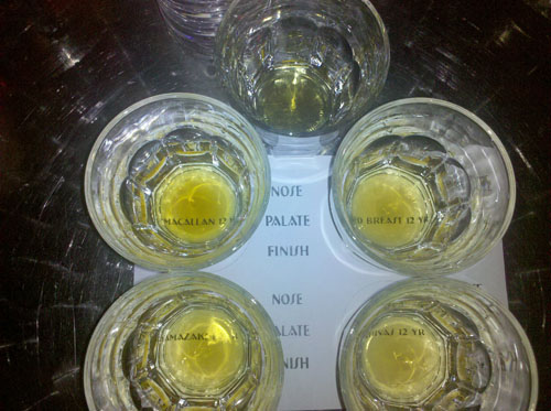 Whiskies Around The World Tasting