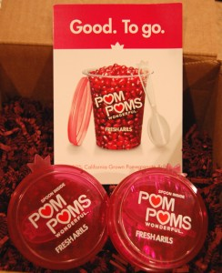 POMPOMsFreshArils02 244x300 POM POMs Fresh Arils Review