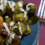 Brussel Sprouts with Lemon Aioli