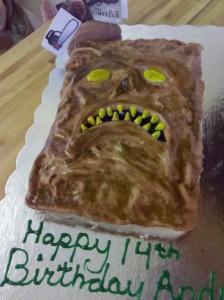 necronomicon cake, evil dead, army of darkness