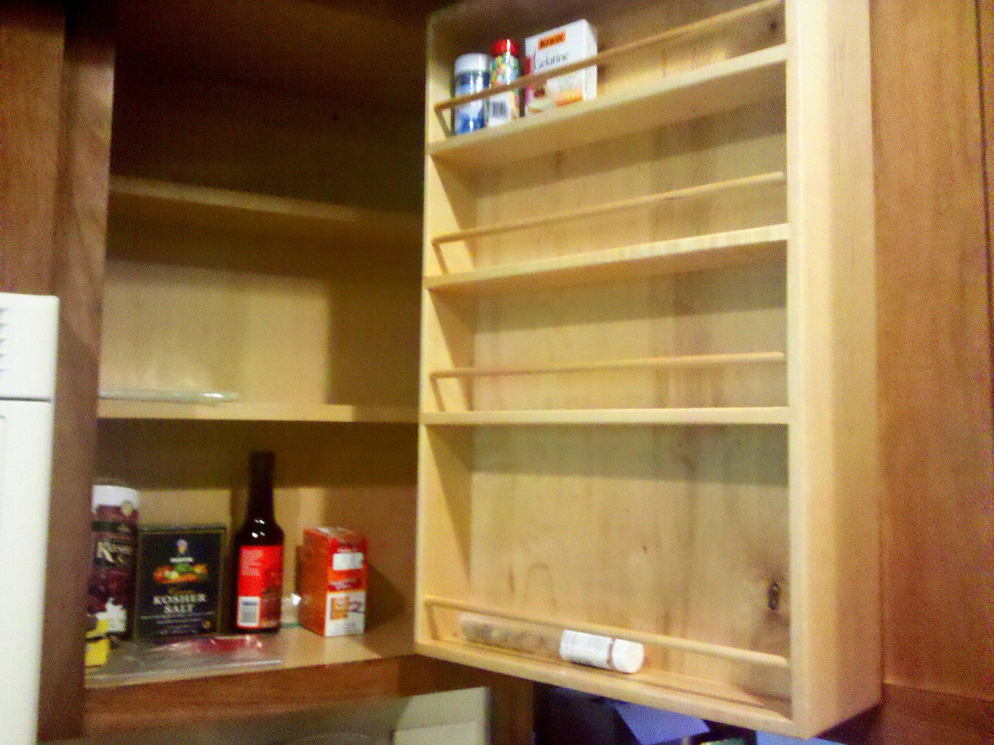 Pimp my Spice Cabinet