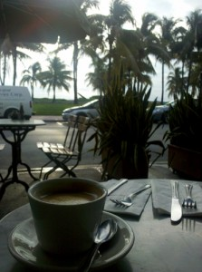 Miami Coffee : Cafe con Leche
