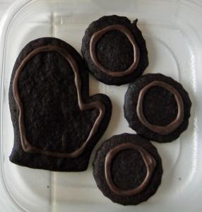 Chocolate Cutout Cookie