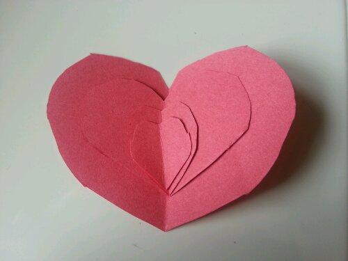 Construction Paper Heart