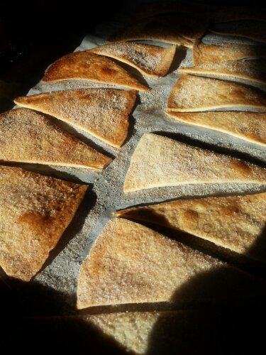 Cinnamon-Sugar Tortilla Chips