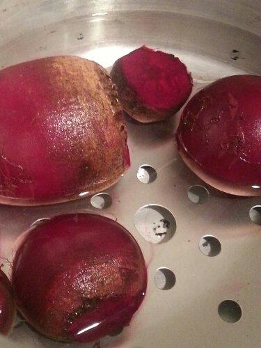 Beets in Pressure Cooker