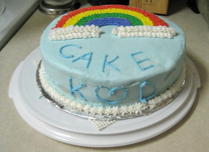 Wilton Level1 Rainbow Cake2