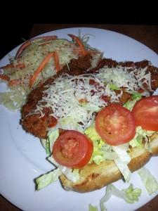 Buffalo Chicken sandwich at Dive Bar & Grille