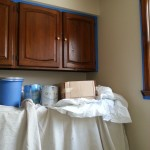 Around and Around and Around: Laundry Room Makeover