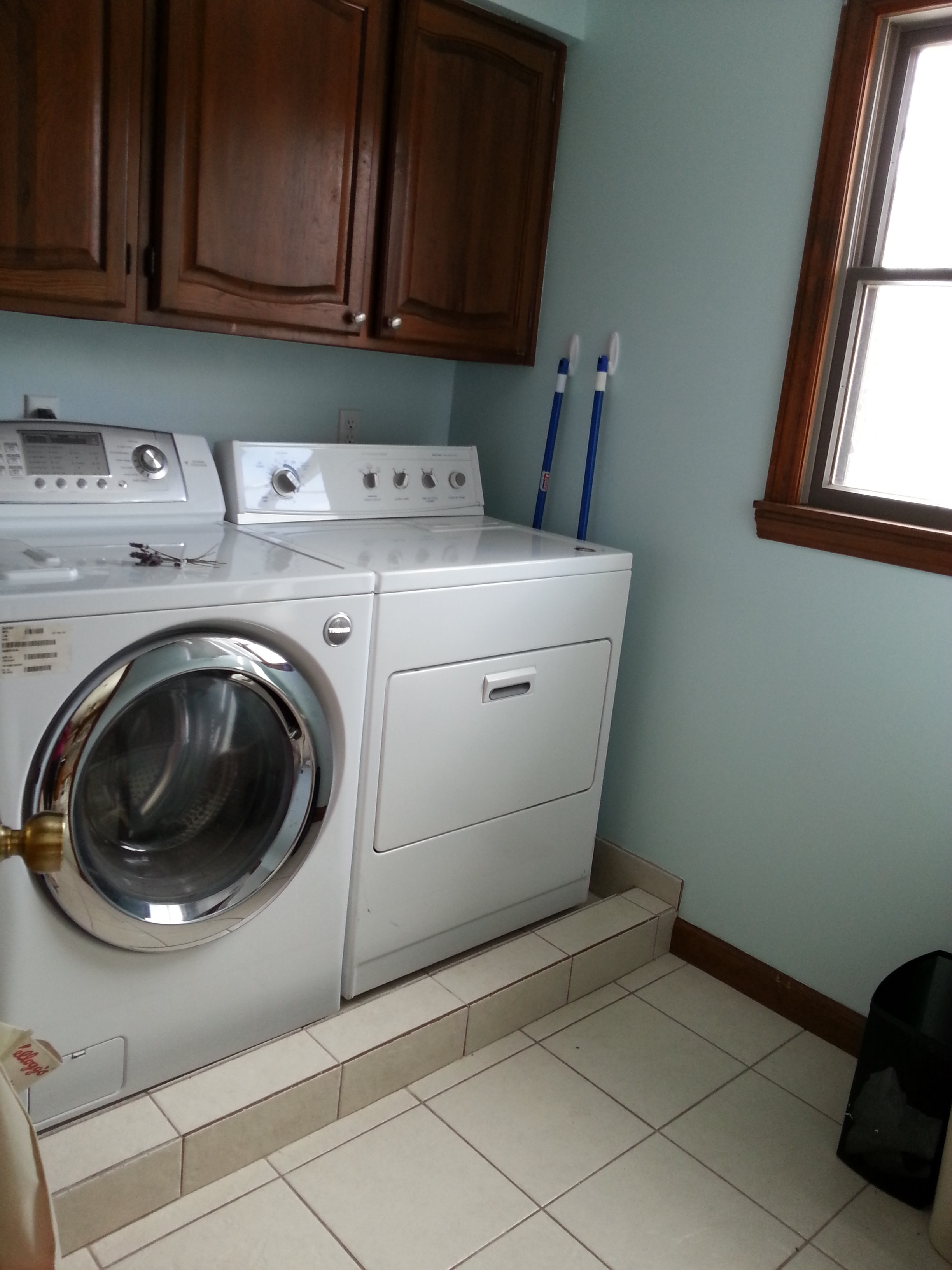 After: Real Laundry Room