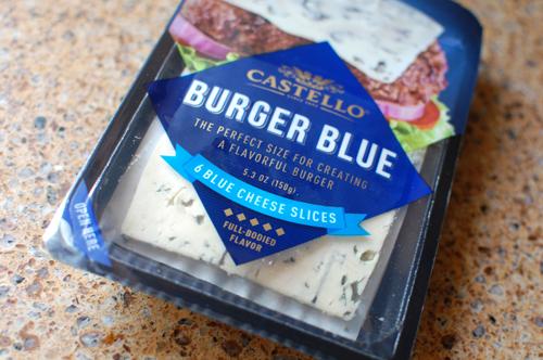 Buffalo Chicken With Castello Burger Blue Cheese