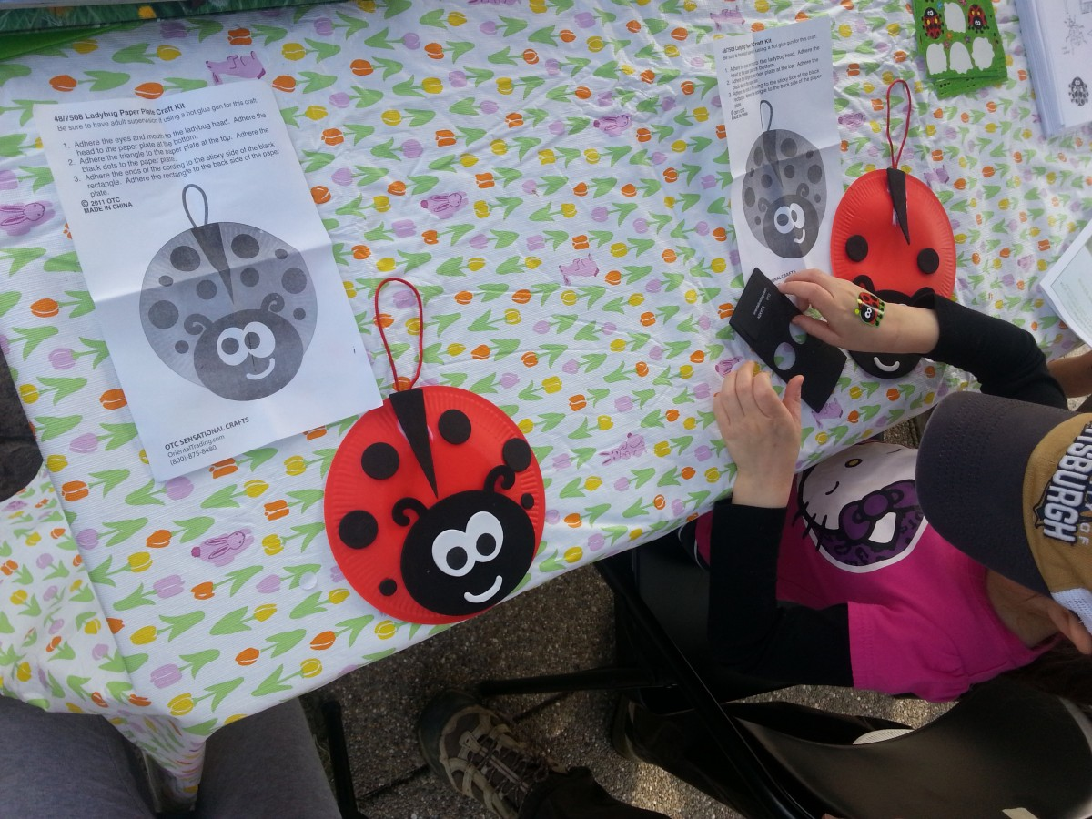 Ladybugs: Penn State - Garden in Parks Field Day (North Park - Pittsburgh, PA)
