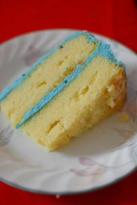 Planet Neptune Cake