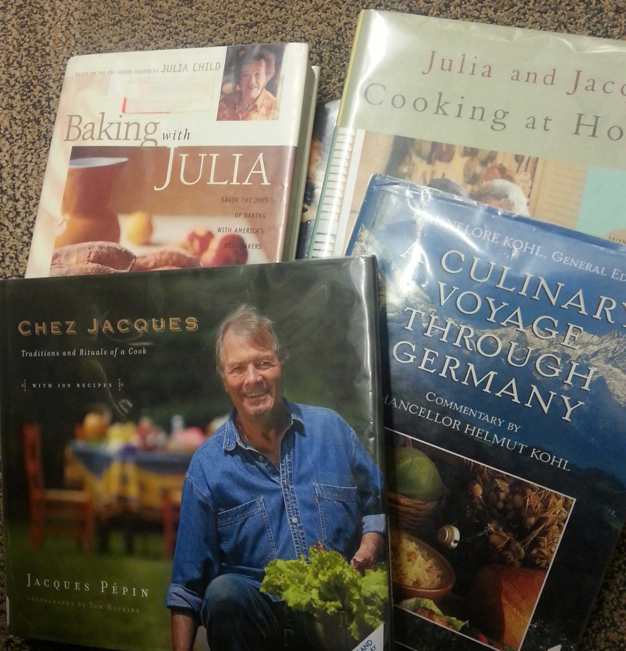 Seeking meal inspiration from a few of the greats