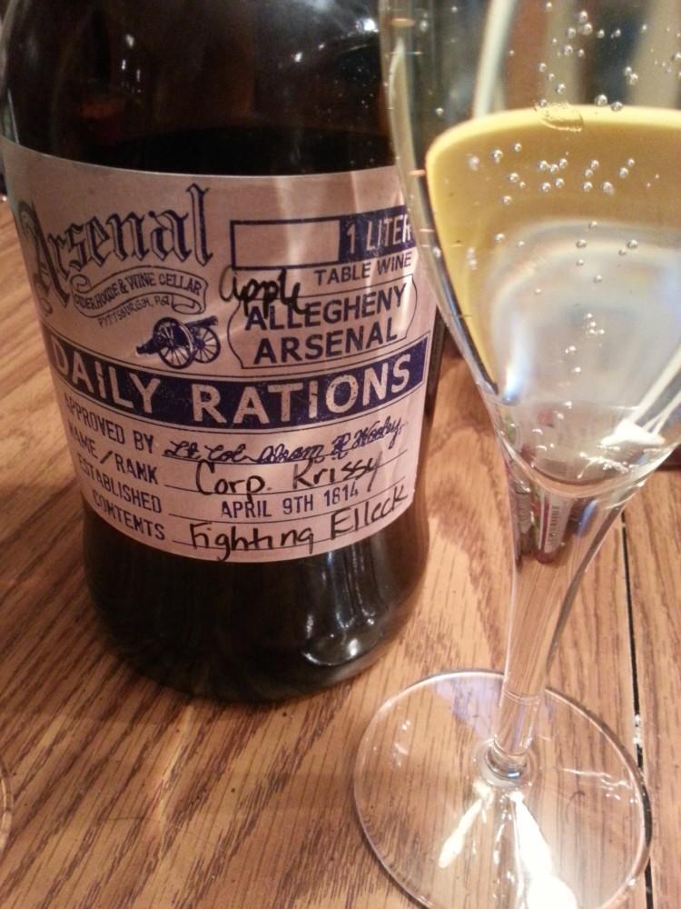Herron's Honeycrisp from Arsenal Cider