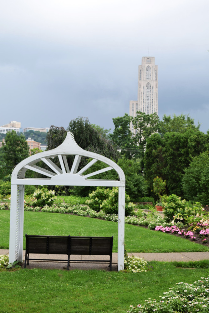 Phipps Conservatory Gardens - Storm Incoming