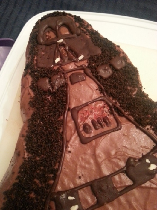Darth Vader Style Cake
