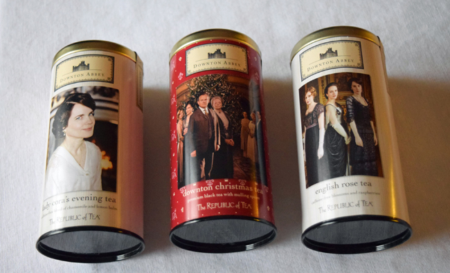Downton Abbey Republic of Tea Collection