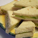 Cucumber Sandwiches fit for a tea party