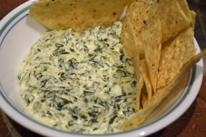 Goat Cheese Spinach Dip
