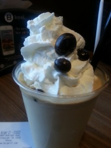 Ybor City Double Espresso Shake // Burger 21