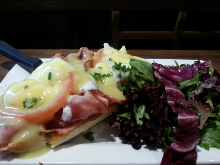Eggs Benedict at First Watch