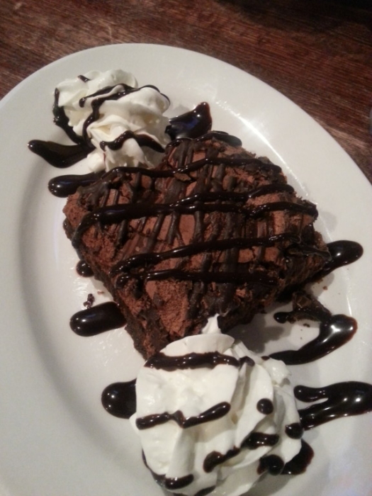 Chocolate Brownie // Poor Richard's Wexford Ale House