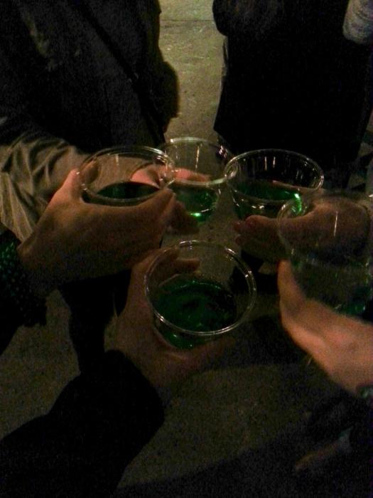 Arrowhead's Green Apple Wine made with Soergel's apples