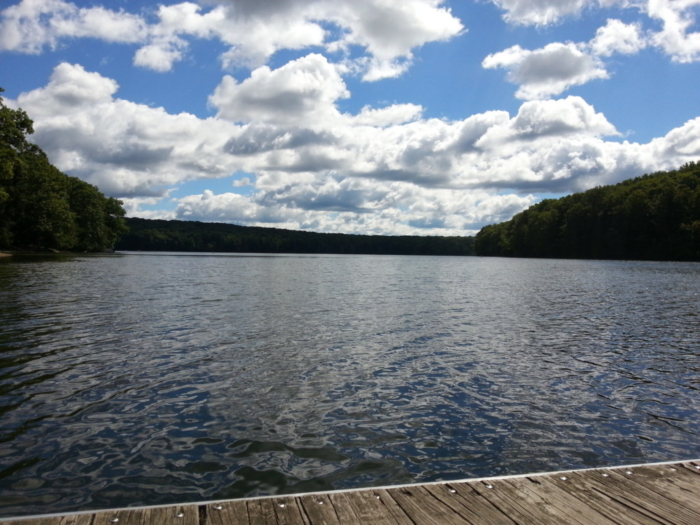 Lake at Prince Gallitzin State Park
